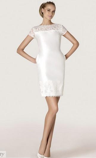 Короткие свадебные платья напрокат в Москве